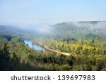 view on gauja valley in spring... | Shutterstock . vector #139697983