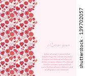 vintage romantic background...   Shutterstock .eps vector #139702057