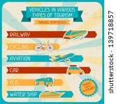 vehicles in various types of... | Shutterstock .eps vector #139718857