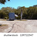 motorhome at a campsite st.... | Shutterstock . vector #139722547