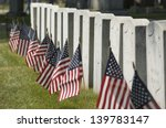 row of cemetery headstones... | Shutterstock . vector #139783147