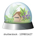 Illustration Of A Dome With A...