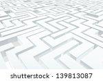 labyrinth | Shutterstock . vector #139813087
