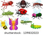 insect cartoon collection set | Shutterstock . vector #139832023