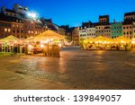 old town at night. warsaw ... | Shutterstock . vector #139849057
