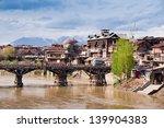 jahelum river in srinagar old... | Shutterstock . vector #139904383