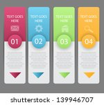 web banners with choice options ... | Shutterstock .eps vector #139946707