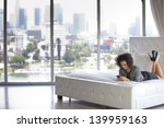 beautiful business woman in a...   Shutterstock . vector #139959163