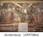 bergamo   january 26  fresco of ... | Shutterstock . vector #139970863