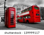 London  The Uk. Red Phone Boot...