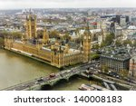 big ben and houses of... | Shutterstock . vector #140008183