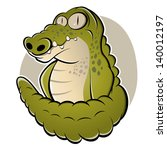 cartoon crocodile | Shutterstock .eps vector #140012197