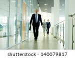 businesspeople going along... | Shutterstock . vector #140079817