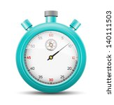 the isolated stopwatch graphic... | Shutterstock .eps vector #140111503