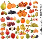 group of fruits in front of... | Shutterstock . vector #140124967