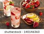refreshing ice cold strawberry... | Shutterstock . vector #140146363
