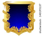 edad,aristocrática,armas,premio,fondo,insignia,en blanco,blasón,azul,certificado,capa,escudo de armas,conocimiento,cresta,decoración
