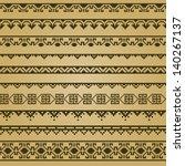 border decoration elements...   Shutterstock .eps vector #140267137