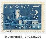 finland   circa 1944  a stamp...   Shutterstock . vector #140336203