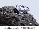 photo of a single cut diamond... | Shutterstock . vector #140339647