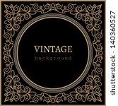 Vintage Background  Vector Gol...
