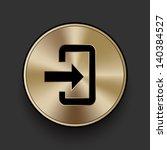 vector metal download icon  ...