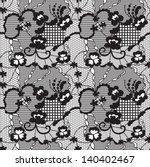 Lace Black Seamless Pattern...