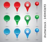 colorful web buttons ... | Shutterstock .eps vector #140443693