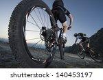 mountainbike downhill  ... | Shutterstock . vector #140453197