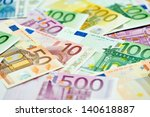european currency money euro...