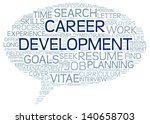career development in word tag... | Shutterstock . vector #140658703