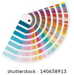 Illustration Of Pantone Colors...