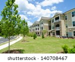 typical apartment complex... | Shutterstock . vector #140708467