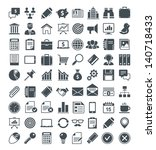 set of useful vector icons.... | Shutterstock .eps vector #140718433