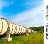 high pressure pipeline for gas... | Shutterstock . vector #140729203