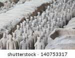 Restored Terra Cotta Warriors...