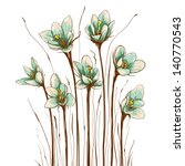 Vintage Flowers Composition....