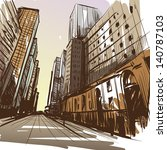 advertisement,architecture,art,avenue,background,banner,book,building,card,cartoon,city,city scape,color,comic book,comics