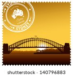 Sydney Harbour Bridge Vector...