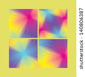 collection of four abstract... | Shutterstock .eps vector #140806387