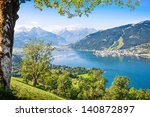 Beautiful View Of Zell Am See...