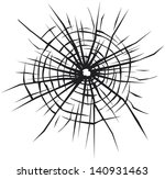 broken glass vector background...   Shutterstock . vector #140931463