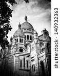 view of basilica of the sacred... | Shutterstock . vector #140932363