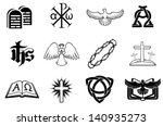 A Set Of Christian Icons...