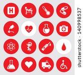 vector illustration of medic... | Shutterstock .eps vector #140998537