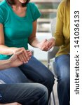Bible Group Praying Together