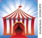 circus tent   bright icon  ... | Shutterstock . vector #141061393