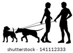 editable vector silhouettes of... | Shutterstock .eps vector #141112333