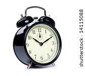 vintage alarm clock | Shutterstock . vector #14115088