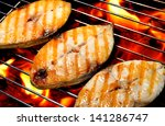 Grilled Fish On The Grill